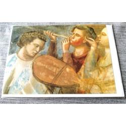 Carte postale avec enveloppe collection GIOTTO cortège nuptiale de la vierge 1303/1305 neuve