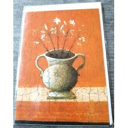 Carte postale avec enveloppe collection DUCCIO l'annonciation 1311 neuve