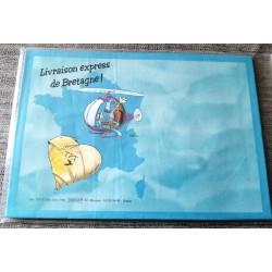 Lot de 5 enveloppes humour Bretagne bleu v02 fêtes anniversaire retraite rétablissement félicitations ... neuve