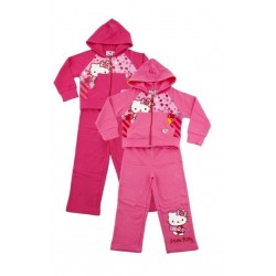 Ensemble Jogging hello Kitty du 2 au 8 ans licence officielle ENFANT FILLE VETEMENT NEUF