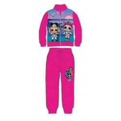 Ensemble Jogging Lol Surprise fuchsia licence officielle du 3 au 8 ans ENFANT FILLE VETEMENT SPORT NEUF