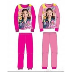 Ensemble Pyjama 2 pièces Soy Luna du 4 au 12 ans ENFANT FILLE VETEMENT LICENCE OFFICIELLE NEUF