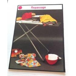 """FICHE COUTURE de ELLE vintage rétro par LES SPÉCIALISTES DE SINGER """"repassage """" collection occasion"""