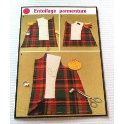 """FICHE COUTURE de ELLE vintage rétro par LES SPÉCIALISTES DE SINGER """"entoilage parmenture """" collection occasion"""