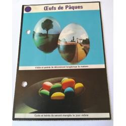 """FICHE MAISON de ELLE vintage rétro par Jacqueline Chaumont """" claustra """" collection occasion"""