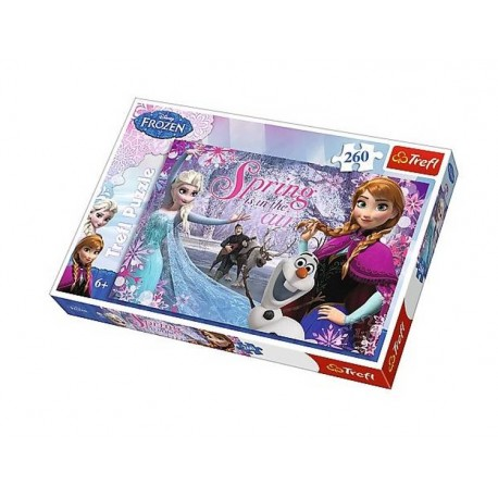 Puzzle 260 pièces la reine des neiges Frozen licence Disney marque Trefl 6 ans + idée cadeau anniversaire noel neuf