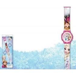 Montre digitale La reine des neiges Frozen fille 3 ans + licence Disney idée cadeau anniversaire noel neuve
