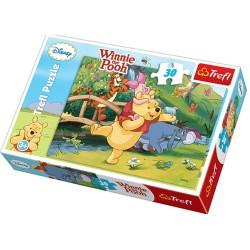 Puzzle 30 pièces Winnie l'ourson licence Disney marque TREFL jeux jouet Idée cadeau anniversaire noel neuf