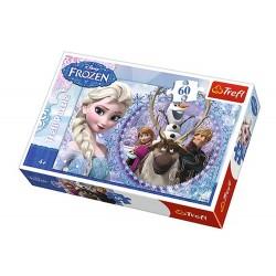 Puzzle 60 pièces Frozen reine des neiges Disney marque TREFL jeux jouet Idée cadeau anniversaire noel neuf