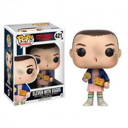 Funko POP 421 Figurine Stranger Things Eleven with Eggos licence officielle collection idée cadeau anniversaire noël neuf