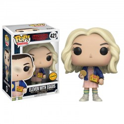 Funko POP 421 Figurine Stranger Things Eleven with Eggos Chase licence officielle collection idée cadeau anniversaire noël neuf