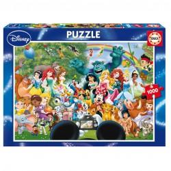 Puzzle Le Merveilleux Monde de Disney 1000 pièces Edition EDUCA licence officielle Disney idée cadeau anniversaire noël neuf