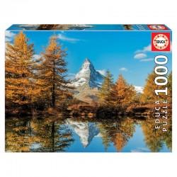 Puzzle 1000 pièces collection montagne en automne licence officielle Edition EDUCA BORAS idée cadeau anniversaire noël neuf