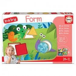 Jeu de mémo éducatif 24 mois et + les formes puzzle 12 pièces EDUCA BORRAS idée cadeau anniversaire noël neuf