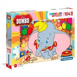 Maxi Puzzle 104 pièces Dumbo licence Disney CLEMENTONI idée cadeau anniversaire noel neuf