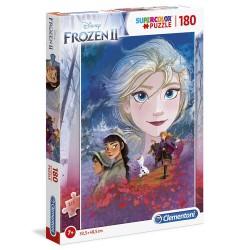 Puzzle 180 pièces reine des neiges 2 Frozen licence Disney CLEMENTONI idée cadeau anniversaire noel neuf