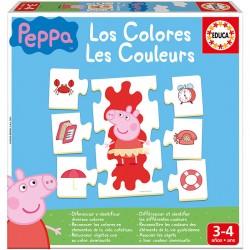 Jeu éducatif les couleurs avec Peppa Pig marque EDUCA BORRAS idée cadeau anniversaire noël neuve