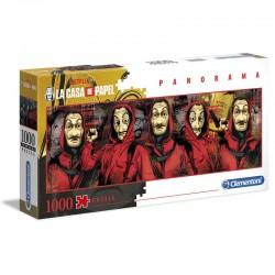 Puzzle 1000 pièces collection LA CASA E LA PAPEL NETFLIX licence officielle CLEMENTONI idée cadeau anniversaire noël neuf