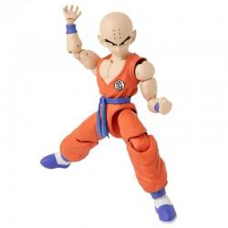 Figurine de luxe collection Dragon Ball Super Krillin 17 cm marque BANDAI idée cadeau anniversaire noël neuve