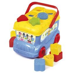 Le bus des formes avec Mickey jeu Jouet 1er ages licence officielle Disney Baby CLEMENTONI idée cadeau anniversaire noël neuf