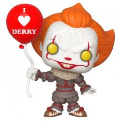 FUNKO POP 780 figurine Ca Chapitre 2 Pennywise (Grippe-Sou) Avec Ballon idée cadeau anniversaire noël neuf