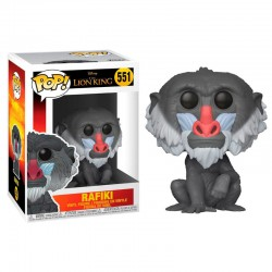 FUNKO POP 551 figurine collection Le Roi lion Rafiki licence Disney idée cadeau anniversaire noël neuf
