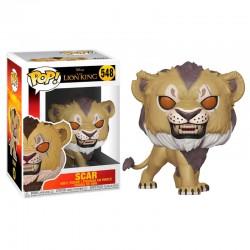 FUNKO POP 548 figurine collection Le Roi lion Scar licence Disney idée cadeau anniversaire noël neuf