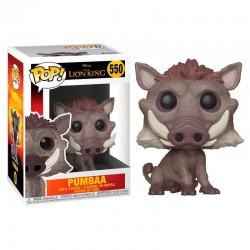 FUNKO POP 550 figurine collection Le Roi lion Pumbaa licence Disney idée cadeau anniversaire noël neuf