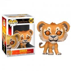FUNKO POP 547 figurine collection Le Roi lion Simba licence Disney idée cadeau anniversaire noël neuf