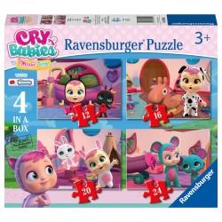 Puzzles 4 en 1 Cry Babies 4 puzzles 12-16-20-24 pcs licence officielle RAVENSBURGER 3 ans + idée cadeau anniversaire noël neuf