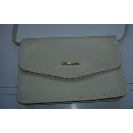 sac à main ANAIS couleur blanc creme tbe