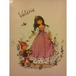 VALÉRIE Prénom sur faïence idée cadeau original naissance anniversaire retraite fête des mères grand mères noel neuf
