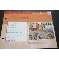 """FICHE FASCICULE """" PAROLES DE CHANSONS """" ARISTIDE BRUANT les canuts 1894"""
