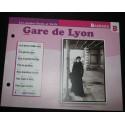 "FICHE FASCICULE "" PAROLES DE CHANSONS "" BARBARA gare de Lyon 1964"