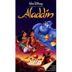 Cassette k7 vidéo vhs walt disney enfant walt disney Aladdin occasion