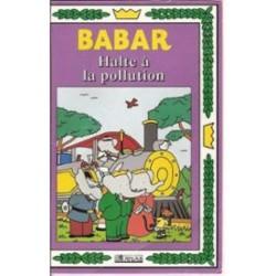 Cassette k7 vidéo vhs enfants collection Babar 2 épisodes Halte À La Pollution / en route pour Célesteville ... occasion