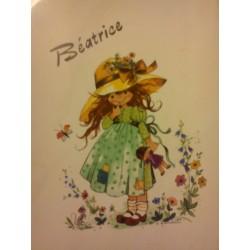 BEATRICE Prénom sur faïence idée cadeau original naissance anniversaire retraite fête des mères grand mères noel neuf