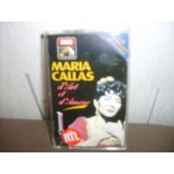 Cassette audio K7 AUDIO musique Maria Callas d'Art et d'Amour
