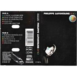 Cassette audio K7 AUDIO musique PHILIPPE LAFONTAINE d'ici