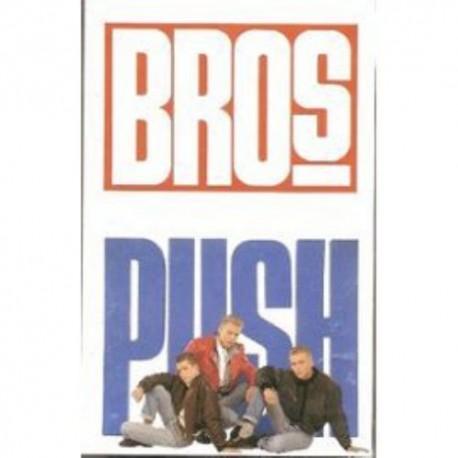 Cassette audio K7 AUDIO musique Bros PUSH