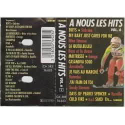 Cassette audio K7 AUDIO musique A Nous Les Hits - Vol 6