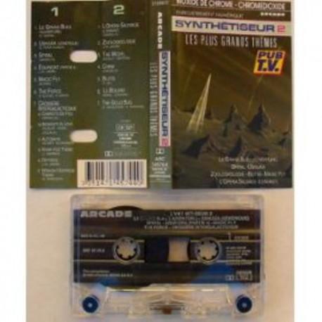 Cassette audio K7 AUDIO musique Synthétiseur 2 Les Plus Grands Thèmes