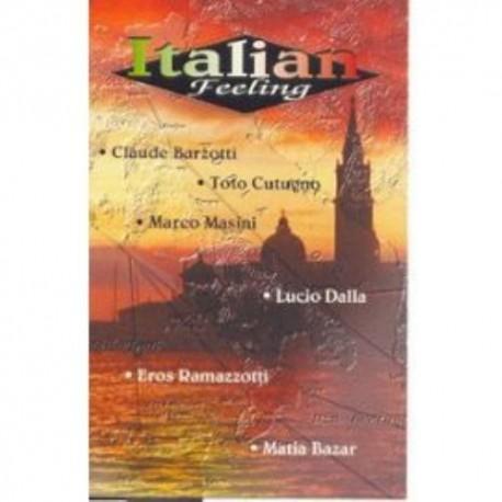 Cassette audio K7 AUDIO musique compilation Italian Feeling