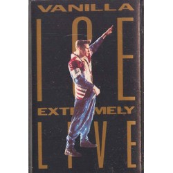 Cassette audio K7 AUDIO musique Vanilla Ice - Extremely Live