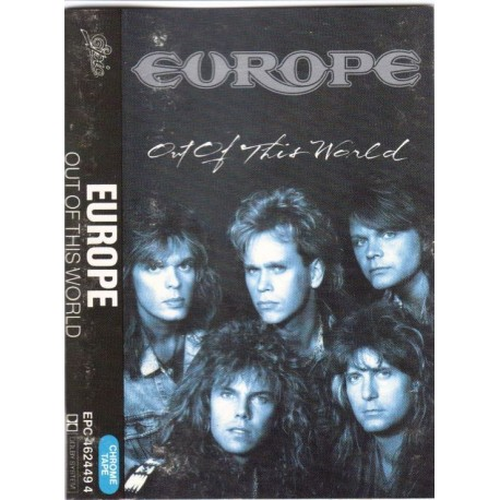 Cassette audio K7 AUDIO musique EUROPE OUT OF THIS WORLD