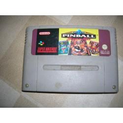 Super Pinball Sbn Occ sur Super Nintendo - Super NES