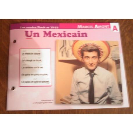 MARCEL AMONT un mexicain 1962