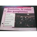 """FICHE FASCICULE """" PAROLES DE CHANSONS """" LES CHARLOTS paulette, la reine des paupiettes 1968"""