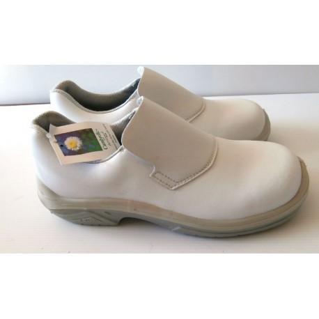 Paires de chaussures de sécurité professionnel cuisine sanitaire renforcé taille 41 blanche marque MTS CAMBRELLEE + FRANCE
