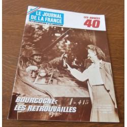"""ANCIEN MAGAZINE COLLECTION """"LE JOURNAL DE LA FRANCE:LES ANNÉES 40 """"HEBDOMADAIRE HISTORIA n°176"""